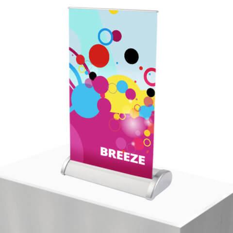 Breeze desktop stand
