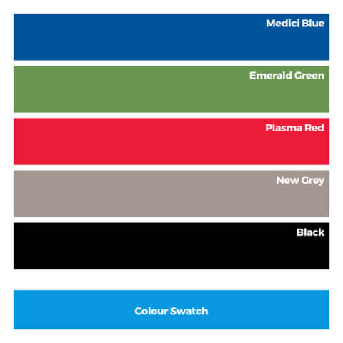 colour swatch for folding panels