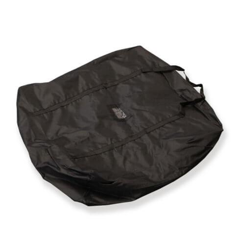Base bag for telescopic flag