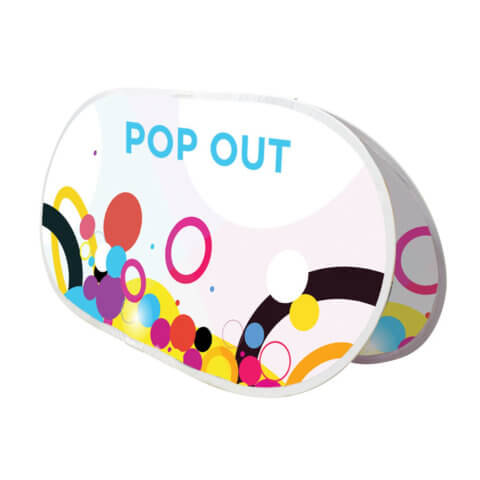 image of outdoor pop out display
