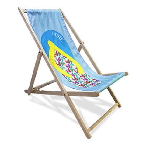 Image of a deck chair